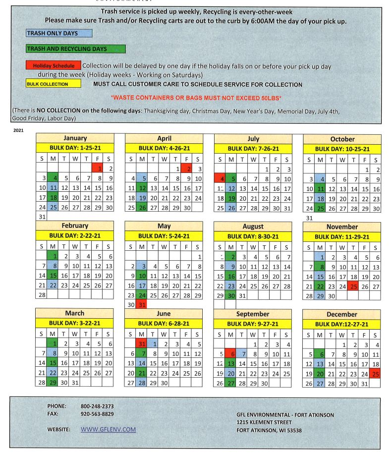 recycling-schedule